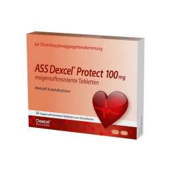 ASS Dexcel Protect 100mg 50 magensaftres. Tbl.