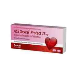 ASS Dexcel Protect 75mg 20 Tbl., magensaftr.