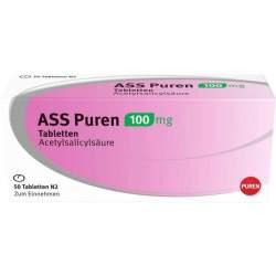 ASS Puren 100 mg 50 Tbl.