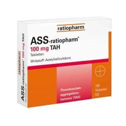 Ass ratiopharm 100mg Tah