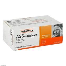 ASS-ratiopharm® 500mg 100 Tbl.