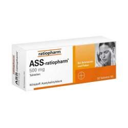 ASS-ratiopharm® 500mg 50 Tbl.