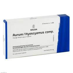 Aurum/Hyoscyamus comp. Weleda 8 x1ml Amp.