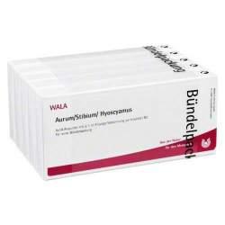 Aurum/Stibium/Hyoscyamus Wala 50 x1ml Amp.
