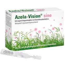 Azela-Vision® sine 0,5 mg/ml Augentropfen im Einzeldosisbehältnis 10x0,3ml