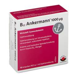 B12 Ankermann® 1000µg 10 Amp.
