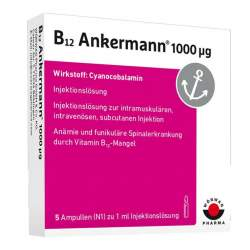 B12 Ankermann® 1000µg 5 Amp.