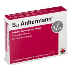 B12 Ankermann® 1000µg 50 überz. Tbl.