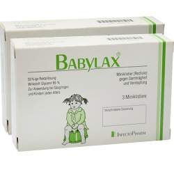 Babylax® 50%ige Rektallösung 6 Klistiere