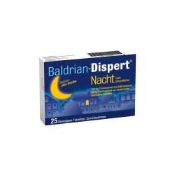 Baldrian-Dispert® Nacht zum Einschlafen 25 Tbl.