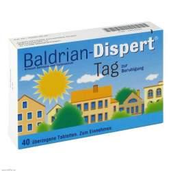 Baldrian-Dispert® Tag 40 überzog. Tbl.