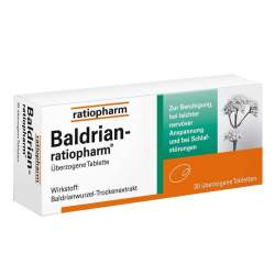 Baldrian-ratiopharm® 30 überzog. Tbl.