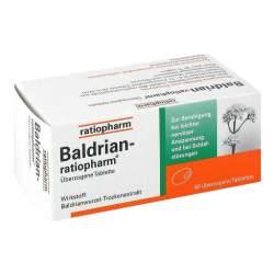 Baldrian-ratiopharm® 60 überzog. Tbl.