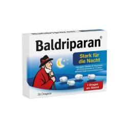 Baldriparan Stark für die Nacht 30 überzogene Tabletten