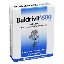 Baldrivit® 600 mg 20 überz. Tbl.