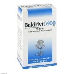 Baldrivit® 600 mg 50 überz. Tbl.