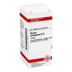 Barium carbonicum D12 DHU 80 Tbl.
