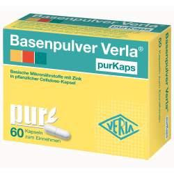 Basenpulver Verla® purKaps 60 Kaps.