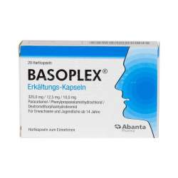 BASOPLEX® Erkältungs-Kapseln 20 Hartkaps.