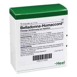 Belladonna-Homaccord® 10 Amp. Inj.-Lsg.