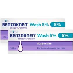 Benzaknen® Wash 5 % Suspension zur Anwendung auf der Haut 2x 100 g