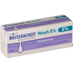 Benzaknen® Wash 5 % Suspension zur Anwendung auf der Haut 50 g