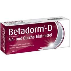 Betadorm®-D 50 mg 10 Tbl.