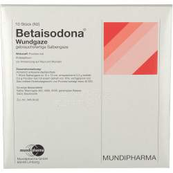 Betaisodona® Wundgaze 10 St. 10x10cm