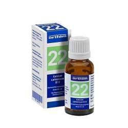 Bioch. Nr.22 Calcium carb. D12 Orth. Glob. 15g