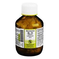 Biochemie 10 Natr. sulf. Nestmann D12 400 Tbl.