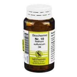 Biochemie 10 Natr. sulf. Nestmann D6 100 Tbl.