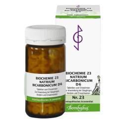 Biochemie 23 Natrium bicarbonicum Bombastus D6 200 Tbl.