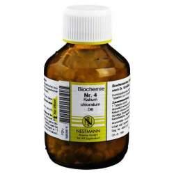 Biochemie 4 Kalium chlor. Nestmann D6 400 Tbl.