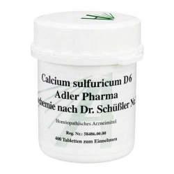 Biochemie Adler 12 Calcium sulf. D6 400 Tbl.