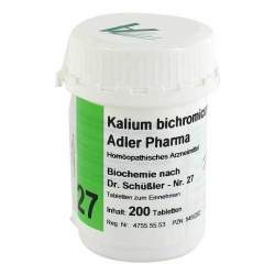 Biochemie Adler 27 Kalium bichromicum D12 200 Tbl.