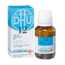 Biochemie DHU 12 Calcium sulfur. D6 200 Tbl.