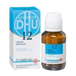 Biochemie DHU 12 Calcium sulfur. D6 80 Tbl.