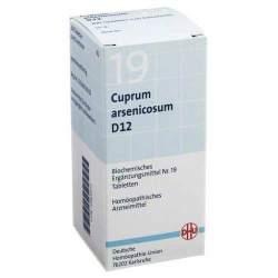 Biochemie DHU 19 Cuprum arsen. D12 200 Tbl.