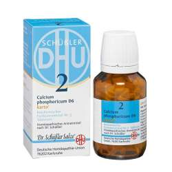Biochemie DHU 2 Calcium phosph. D6 Karto 200 Tbl.