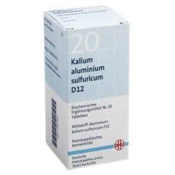 Biochemie DHU 20 Kali. alum. sulfur. D12 200 Tbl.