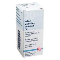Biochemie DHU 20 Kalium alum. sulfur. D6 80 Tbl.