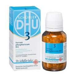 Biochemie DHU 3 Ferrum phosphoricum D12 80 Tbl.