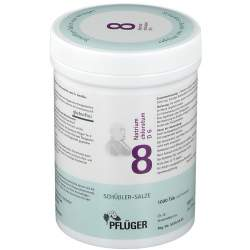 Biochemie Nr. 8 Natrium chlor. D6 Pflüger 1000 Tbl.