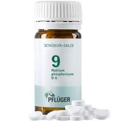 Biochemie Nr. 9 Natrium phosph. D6 Pflüger 100 Tbl.