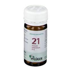 Biochemie Nr.21 Zincum chlor. D6 Pflüger 100 Tbl.