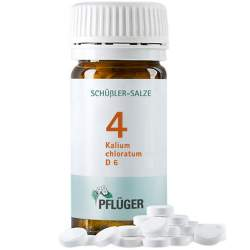 Biochemie Nr.4 Kalium chlor. D6 Pflüger 100 Tbl.
