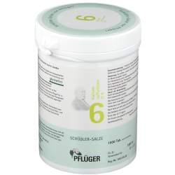 Biochemie Nr.6 Kalium sulfur. D6 Pflüger 1000 Tbl.