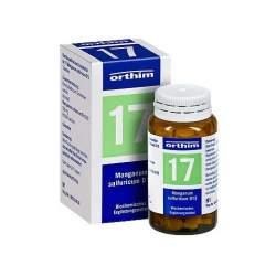 Biochemie Orthim 17 Manganum sulfuricum D12 100 Tbl.