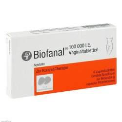 Biofanal® 100 000 I.E. 6 Vaginaltabletten