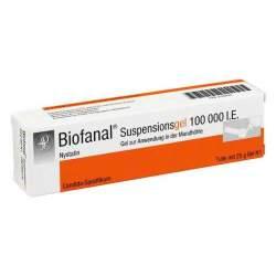 Biofanal® Suspensionsgel 100 000 I.E., Gel zur Anwendung in der Mundhöhle 25g